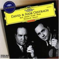 0028946361627 : OISTRACH DAVID & IGOR - BACH - HAENDEL - VIVALDI : WORKS FOR TWO VIOLINS