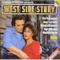 LEONARD BERNSTEIN - WEST SIDE STORY (479580-62, 180 gm.) DEUTSCHE GRAMMOPHON/GER. MINT