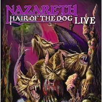NAZARETH - HAIR OF THE DOG –LIVE 2008 (20030-1) ZYX/GER. MINT