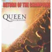 QUEEN + PAUL RODGERS - RETURN OF THE CHAMPIONS 3 LP Box Set 2005 (0094633697911) EMI/EU MINT