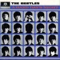 BEATLES - A HARD DAY'S NIGHT 1964/2012 (PCS 3058, REMASTERED, 180 gm.) EMI/APPLE/EU MINT