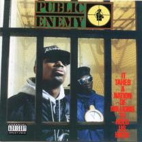PUBLIC ENEMY - IT TAKES A NATION OF MILLIONS TO HOLD US BACK 1988. DAF JAM/EU MINT