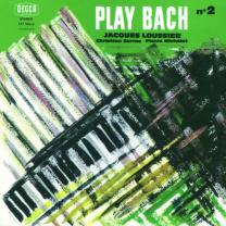 0601215756227 : LOUSSIER JACQUES : PLAY BACH ? 2