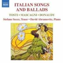 0747313247172 : TOSTI FRANCESCO PAOL : ITALIAN SONGS AND BALLADS