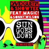 DAVID GUETTA / SHOWTEK - SUN GOES DOWN 2015 (REMIXES EP, 0825646017751) WARNER/EU MINT