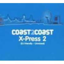 0827236027027 : VARIOUS : COAST 2 COAST (X-PRESS 2) - UNMIXED
