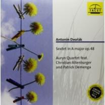 ANTONIN DVORAK / AURYN QUARTET - SEXTET OP. 48. 2010 (4009850019619, LTD. 180 gm.) GAT, GER. MINT