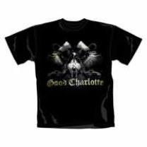 4051807078583 : GOOD CHARLOTTE : T-SHIRT - WINGS SKULL [SIZE XL] - SCHWARZ