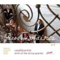 4260123641436 : CASAL QUARTETT : BIRTH OF THE STRINGQUARTET VOL.2 ... (TELEMANN/8GUILLEMAIN/MOZART/HAYDN)