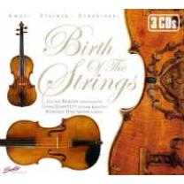 4260123641610 : BERGER/CASAL QUARTETT/HARTMANN : BIRTH OF THE STRINGS
