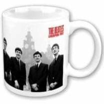 5055295318663 : BEATLES : TASSE - LIVER BUILDINGS [SIZE 9,7 CM X 8,2 CM] - WEISS