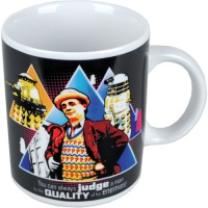 5060021937148 : DOCTOR WHO : TASSE - SEVENTH DOCTOR [SIZE 9,7 X 8,2CM UND 300ML] - WEIß