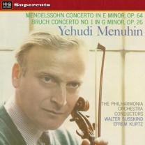 YEHUDI MENUHIN / PO / WALTER SUSSKIND – MENDELSSHON / BRUCH - VIOLIN CONCERTOS 1959/2011 (HIQLP004)