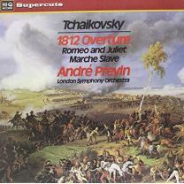 TCHAIKOVSKY – ANDRE PREVIN/LSO 1812 OVERTURE… 1973/2010 (HIQLP007, SUPERCUTS) HI-Q/ENG. MINT
