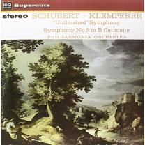 SCHUBERT/ KLEMPERER - UNFINISHED SYMPHONY / PHILHARMONIA ORCHESTRA 1964/2014. HI-Q/ENG. MINT