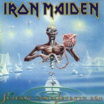 IRON MAIDEN - SEVENTH SON OF A SEVENTH SON (9729 561, LTD. PICTURE DISC) GAT, EMI/ENG. MINT