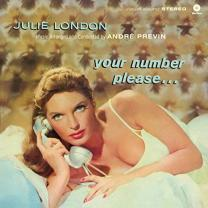 JULIE LONDON - YOUR NUMBER PLEASE… 1960/2013 (771893, 180 gm.) WAX TIME/EU MINT