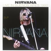 NIRVANA - LIVE IN BUENOS AIRES 1992 2 LP Set (8712177064236, RE-ISSUE) VINYL PASSION/EU MINT